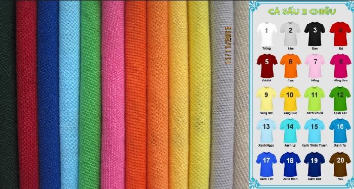 Vải lacoste tại đồng phục Nghệ An